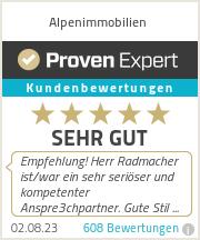 Erfahrungen & Bewertungen zu Alpenimmobilien