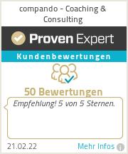 Erfahrungen & Bewertungen zu compando - Coaching & Consulting