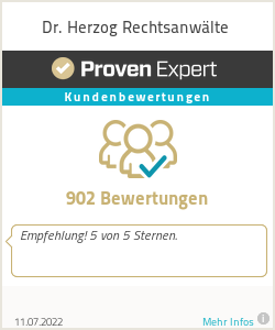 Erfahrungen & Bewertungen zu Dr. Herzog Rechtsanwälte