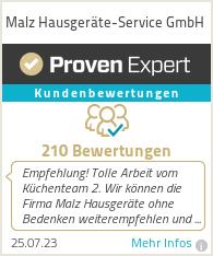 Erfahrungen & Bewertungen zu Malz Hausgeräte-Service GmbH