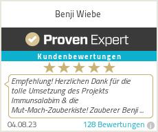 Erfahrungen & Bewertungen zu Benji Wiebe