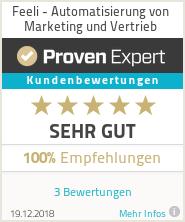 Erfahrungen & Bewertungen zu Feeli - Automatisierung von Marketing und Vertrieb