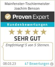 Erfahrungen & Bewertungen zu Tischlermeister Joachim Fiedler