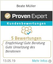 Erfahrungen & Bewertungen zu Beate Müller