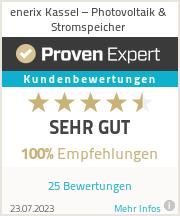 Erfahrungen & Bewertungen zu enerix Kassel-Süd - Photovoltaik & Stromspeicher