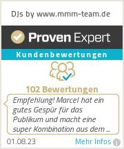 Erfahrungen & Bewertungen zu DJs by www.mmm-team.de
