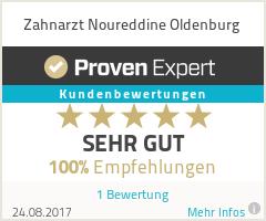 Erfahrungen & Bewertungen zu Zahnarzt Noureddine Oldenburg