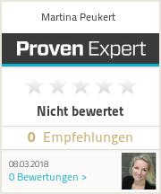 Erfahrungen & Bewertungen zu Martina Peukert