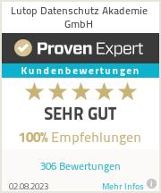 Erfahrungen & Bewertungen zu Lutop Datenschutz Akademie GmbH