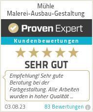 Erfahrungen & Bewertungen zu Mühle Malerei-Ausbau-Gestaltung