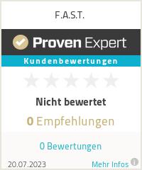 Erfahrungen & Bewertungen zu F.A.S.T.