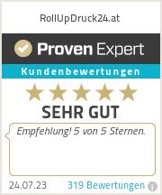 Erfahrungen & Bewertungen zu RollUpDruck24.at