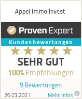 Erfahrungen & Bewertungen zu Appel Immo Invest