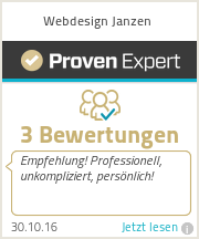 Erfahrungen & Bewertungen zu Webdesign Janzen