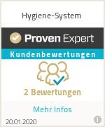Erfahrungen & Bewertungen zu Hygiene-System
