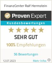 Erfahrungen & Bewertungen zu FinanzCenter Ralf Hermstein