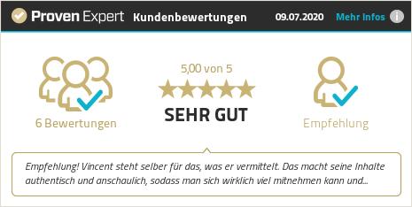 Kundenbewertungen & Erfahrungen zu Vincent Eifler. Mehr Infos anzeigen.