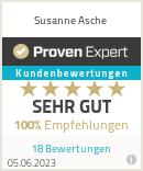 Erfahrungen & Bewertungen zu Susanne Asche