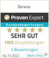 Erfahrungen & Bewertungen zu Dorena