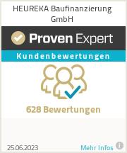 Erfahrungen & Bewertungen zu HEUREKA Baufinanzierung GmbH
