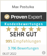 Erfahrungen & Bewertungen zu Max Postulka