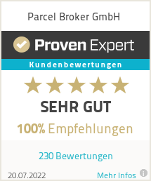 Erfahrungen & Bewertungen zu Parcel Broker GmbH