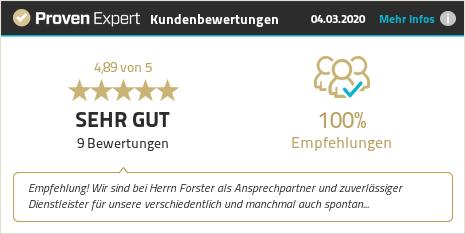 Kundenbewertungen & Erfahrungen zu Forster und Müller IT Service. Mehr Infos anzeigen.