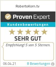 Erfahrungen & Bewertungen zu RobertoKorn.tv