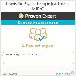 Erfahrungen & Bewertungen zu Praxis für Psychotherapie (nach dem HeilPrG)