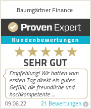 Erfahrungen & Bewertungen zu Baumgärtner Finance