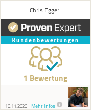 Erfahrungen & Bewertungen zu Chris Egger