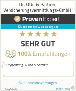 Erfahrungen & Bewertungen zu Dr. Otto & Partner Versicherungsvermittlungs-GmbH
