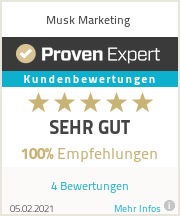 Erfahrungen & Bewertungen zu Musk Marketing