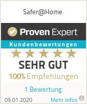 Erfahrungen & Bewertungen zu Safer@Home
