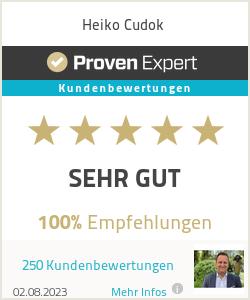 Erfahrungen & Bewertungen zu Heiko Cudok