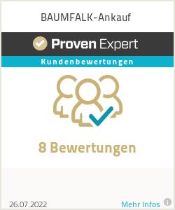 Erfahrungen & Bewertungen zu BAUMFALK-Ankauf