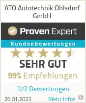 Erfahrungen & Bewertungen zu ATO Autotechnik Ohlsdorf GmbH