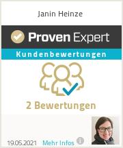 Erfahrungen & Bewertungen zu Janin Heinze