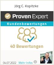 Erfahrungen & Bewertungen zu Jörg C. Kopitzke