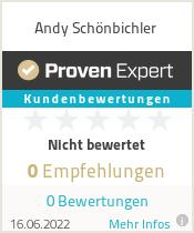 Erfahrungen & Bewertungen zu Andy Schönbichler