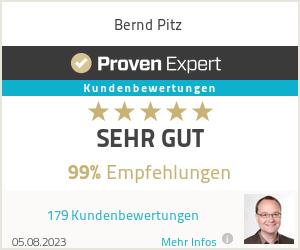 Erfahrungen & Bewertungen zu Bernd Pitz