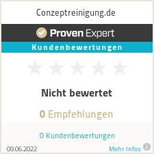 Erfahrungen & Bewertungen zu conzeptreinigung.com
