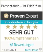 Erfahrungen & Bewertungen zu Presentando - Ihr Erklärfilm