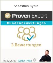 Erfahrungen & Bewertungen zu Sebastian Kytka