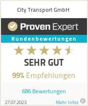Erfahrungen & Bewertungen zu City Transport GmbH