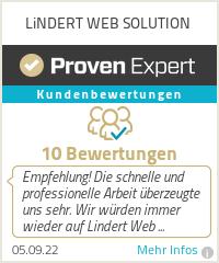 Erfahrungen & Bewertungen zu LiNDERT WEB SOLUTION