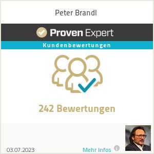Erfahrungen & Bewertungen zu Peter Brandl