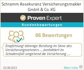 Erfahrungen & Bewertungen zu Schramm Assekuranz Versicherungsmakler GmbH & Co. KG