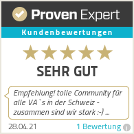 Erfahrungen & Bewertungen zu Virtuelle Assistenz Schweiz