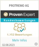 Erfahrungen & Bewertungen zu PROTREMO AG